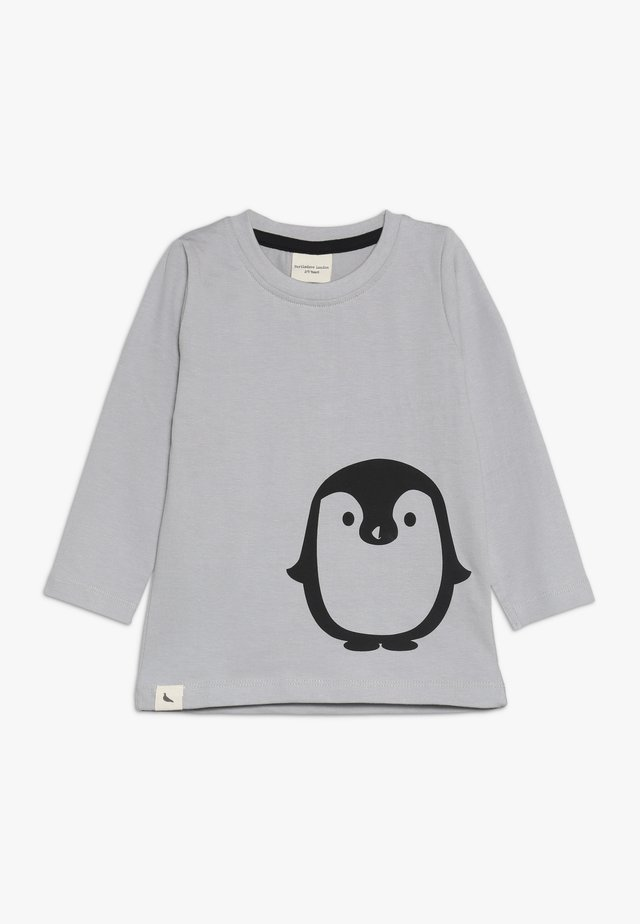 PENGUIN PLACEMENT TOP - Maglietta a manica lunga - grey