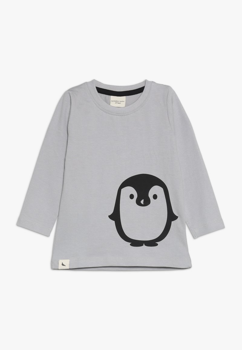 Turtledove - PENGUIN PLACEMENT TOP - Camiseta de manga larga - grey