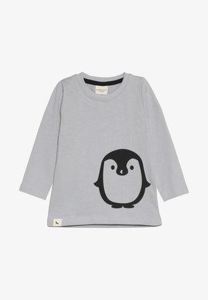 PENGUIN PLACEMENT TOP - Langarmshirt - grey
