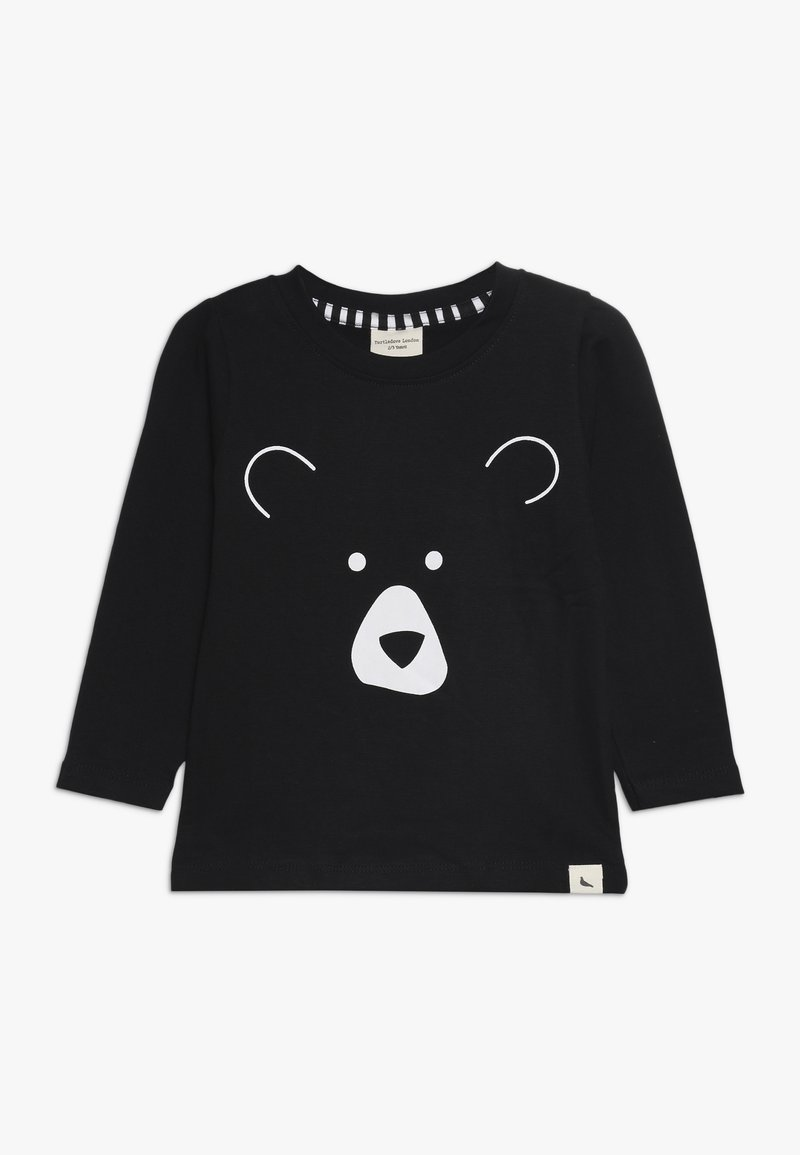 Turtledove - BEAR HEAD - Camiseta de manga larga - black