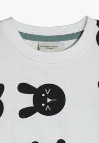 Turtledove - BUNNY PRINT BABY - Triko spotiskem - white - 4