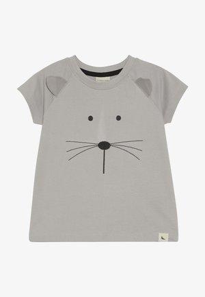 MOUSE FACE - Print T-shirt - grey