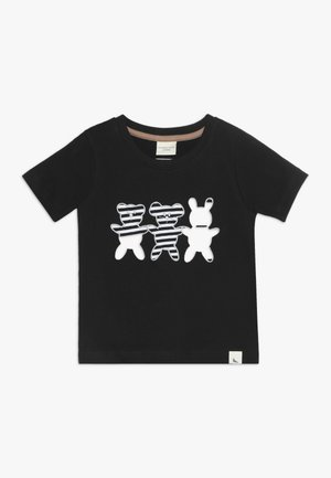 BESTIES APPLIQUE - T-shirts print - black
