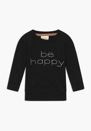 BE HAPPY BABY - Sweatshirt - black