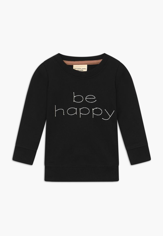 BE HAPPY BABY - Collegepaita - black