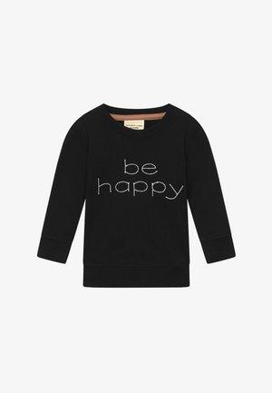 BE HAPPY BABY - Mikina - black