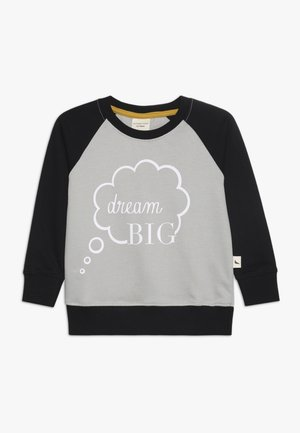 DREAM BIG  - Sweatshirt - light grey/black