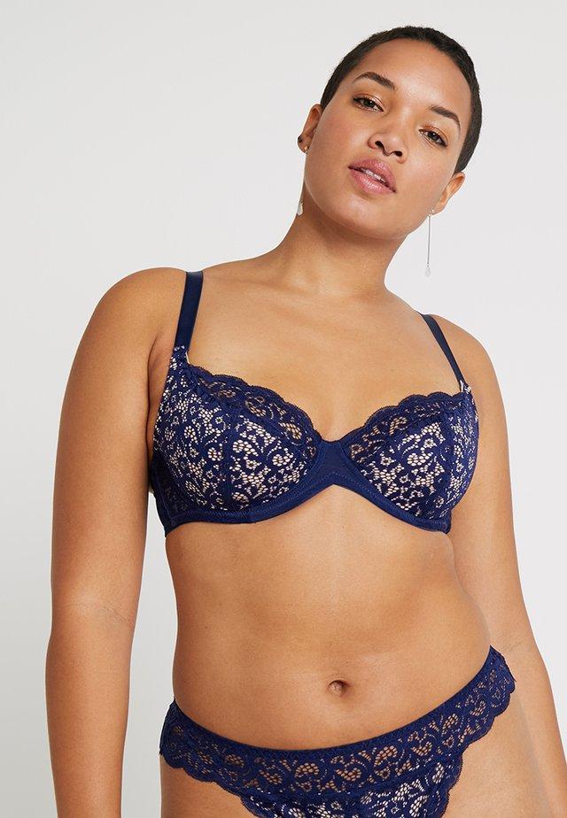 SARAH BRA - Bøjle-bh'er - sapphire/nude