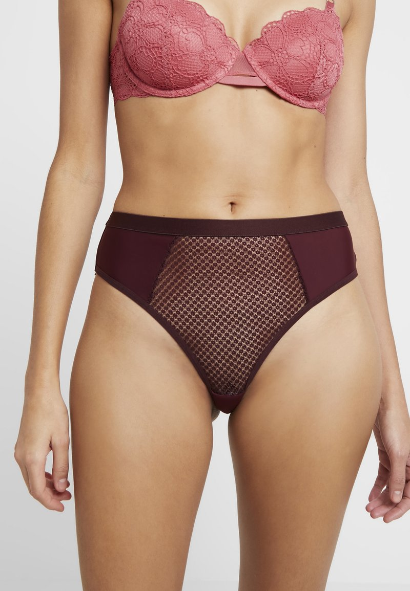 Tutti Rouge - LYDIA HIGH WAIST BRIEF - Slip - tea rose