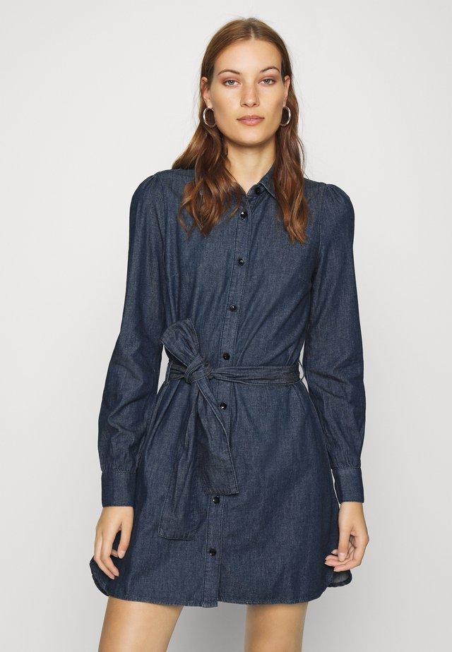 ENYA DRESS - Jeanskjole / cowboykjoler - dark blue