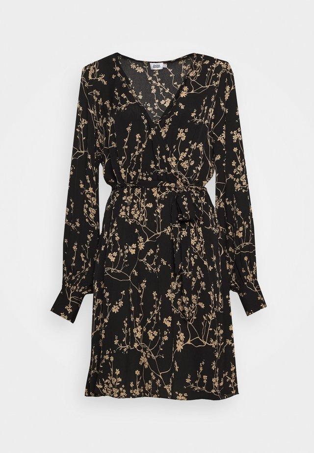 KALEA DRESS - Korte jurk - black