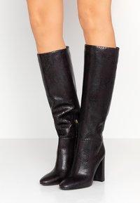 TWINSET - Laarzen met hoge hak - antracite - 0