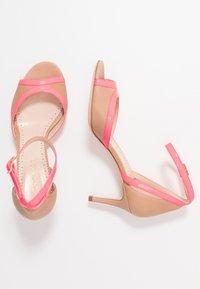 TWINSET - Sandals - desert/fuxia fluo - 3