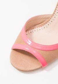 TWINSET - Sandals - desert/fuxia fluo - 2