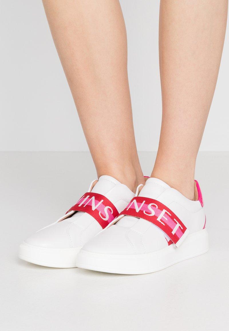 TWINSET - Sneakers basse - multicolor ottico/geranium/jazz