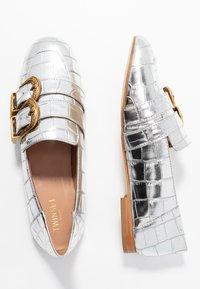 TWINSET - Scarpe senza lacci - titanio - 3