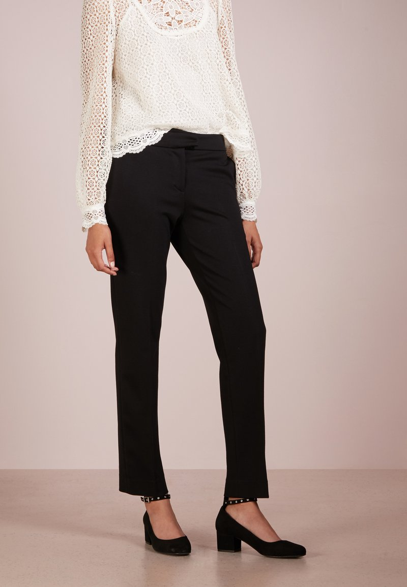 TWINSET - PANTALONE - Trousers - nero
