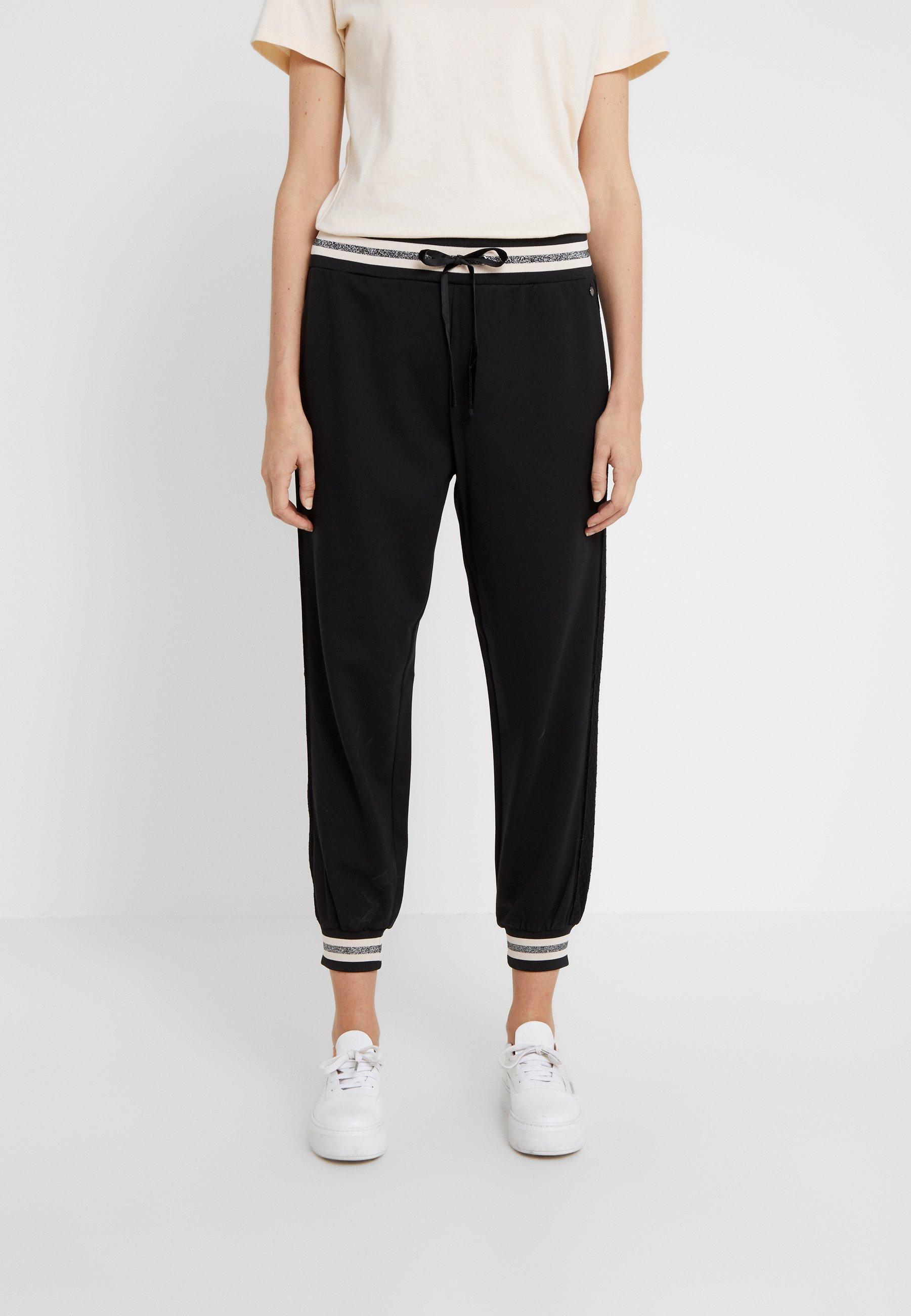 TWINSET IN PUNTO MILANO - Pantaloni sportivi nero