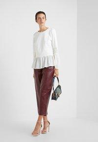 TWINSET - PANTALONE - Trousers - red - 1