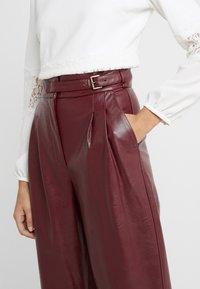 TWINSET - PANTALONE - Trousers - red - 4