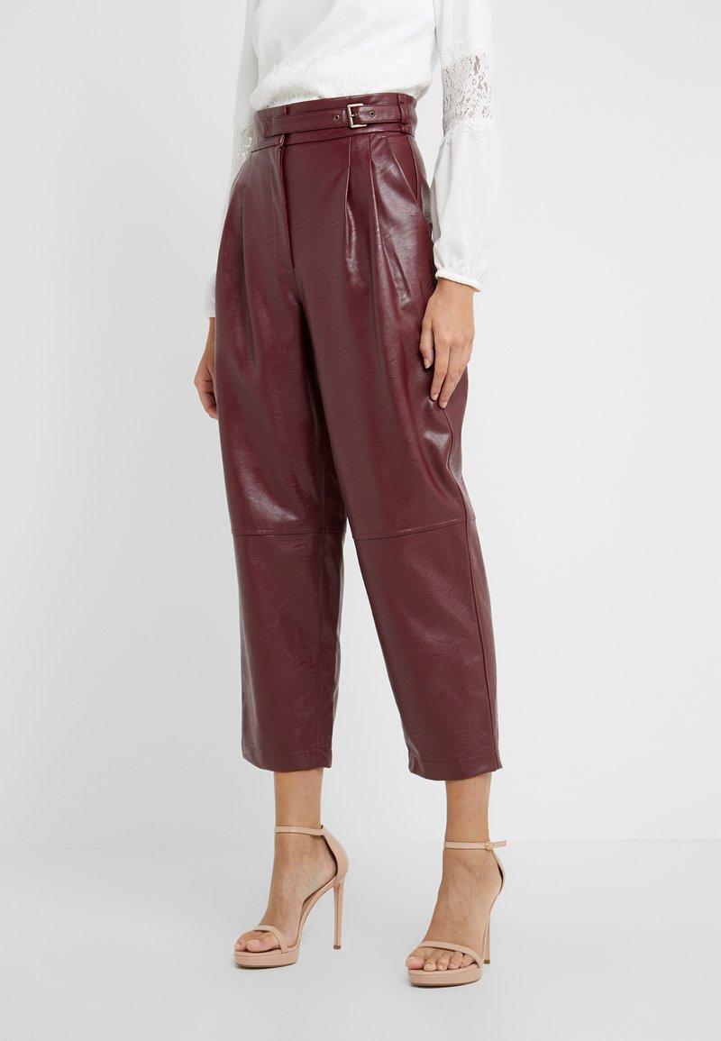 TWINSET - PANTALONE - Trousers - red