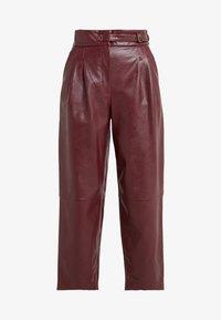 TWINSET - PANTALONE - Trousers - red - 3