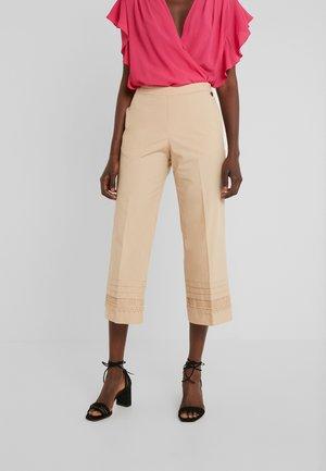 Pantalon classique - nougat