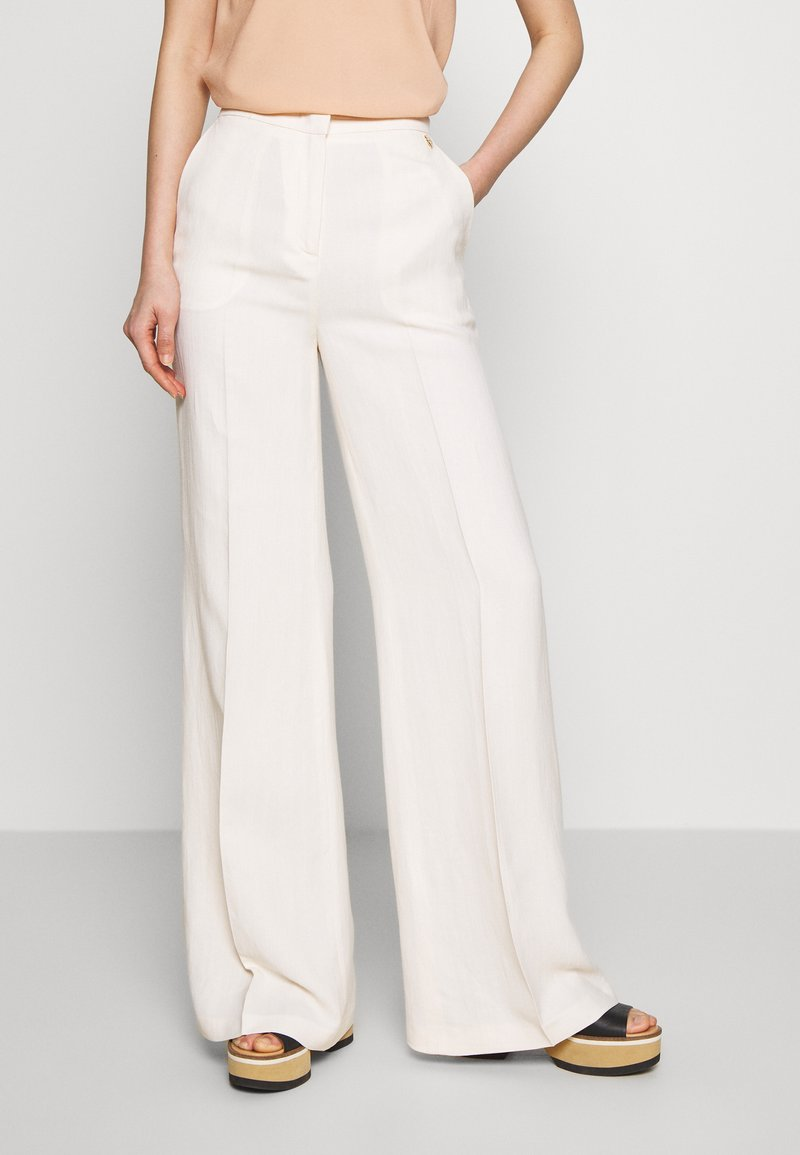TWINSET - Trousers - antique white