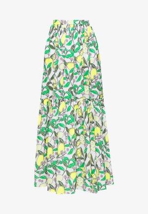 Długa spódnica - lemon