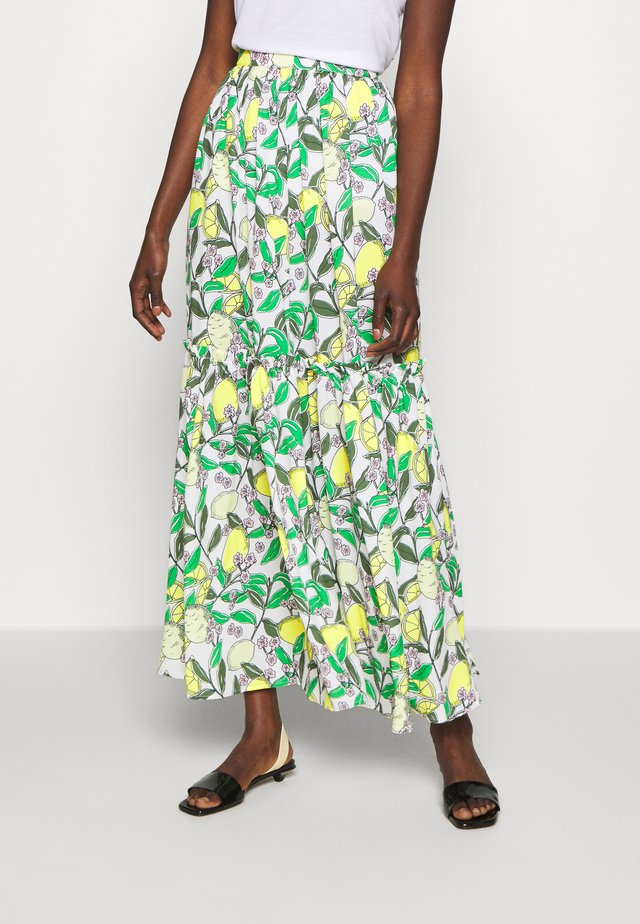 Maxi skirt - lemon
