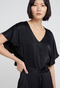 TWINSET - IN RASO - Vestito elegante - nero - 4