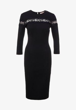 ABITO TUBINO IN PUNTO MILANO - Vestido de tubo - nero
