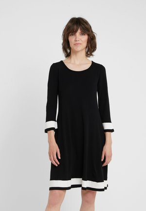 ABITO - Jumper dress - nero/papiro
