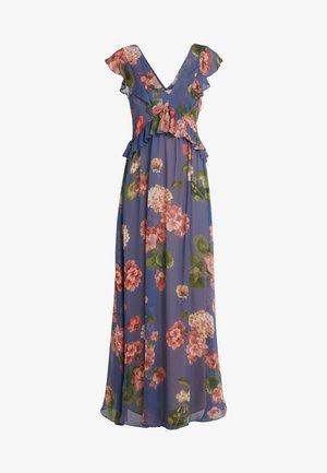ABITO LUNGO STAMPA GERANIO - Suknia balowa - riverside geranium