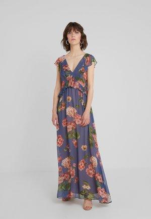 ABITO LUNGO STAMPA GERANIO - Společenské šaty - riverside geranium