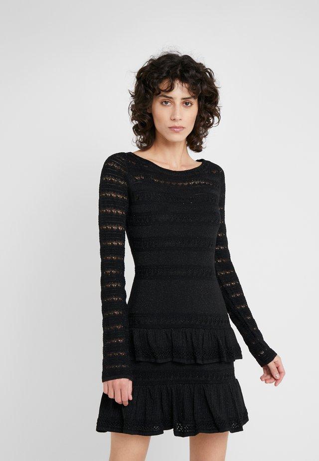ABITO  - Jumper dress - riga nero