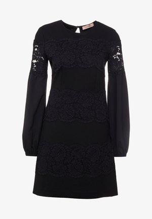 ABITO CORTO IN PUNTO MILANO - Vestito di maglina - nero