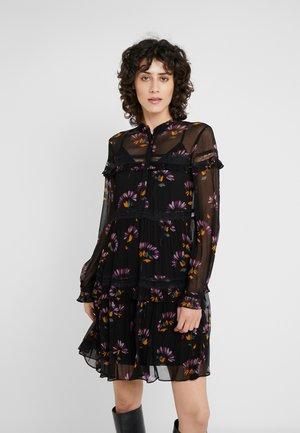 ABITO DE CHINE STAMPATA - Cocktail dress / Party dress - black