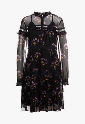 ABITO DE CHINE STAMPATA - Koktejlové šaty/ šaty na párty - black