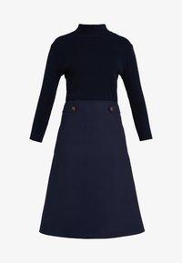 TWINSET - Pletené šaty - mid blu - 5