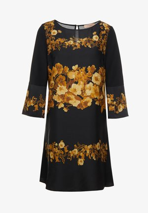 ABITO IN STAMPA FOULARD - Day dress - nero