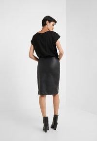 TWINSET - ABITO  - Shift dress - nero - 2