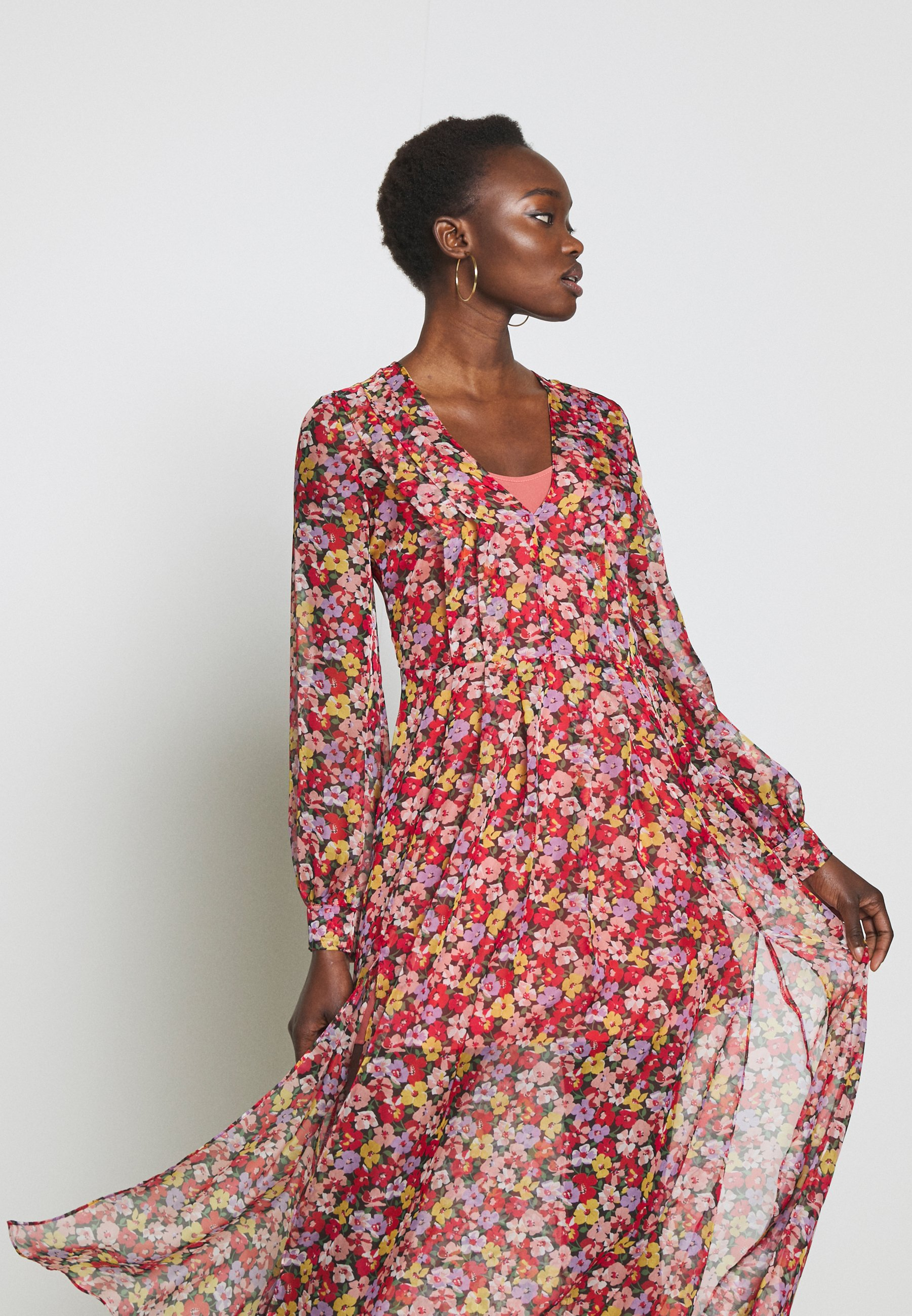 Twinset Abito Con Spacchi - Cocktail Dress / Party Violette UK