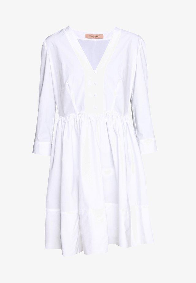 Korte jurk - bianco ottico