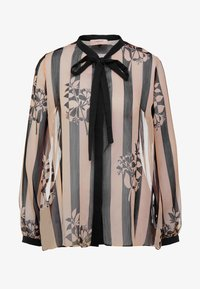 TWINSET - CAMICIA - Blouse - off-white/black - 4