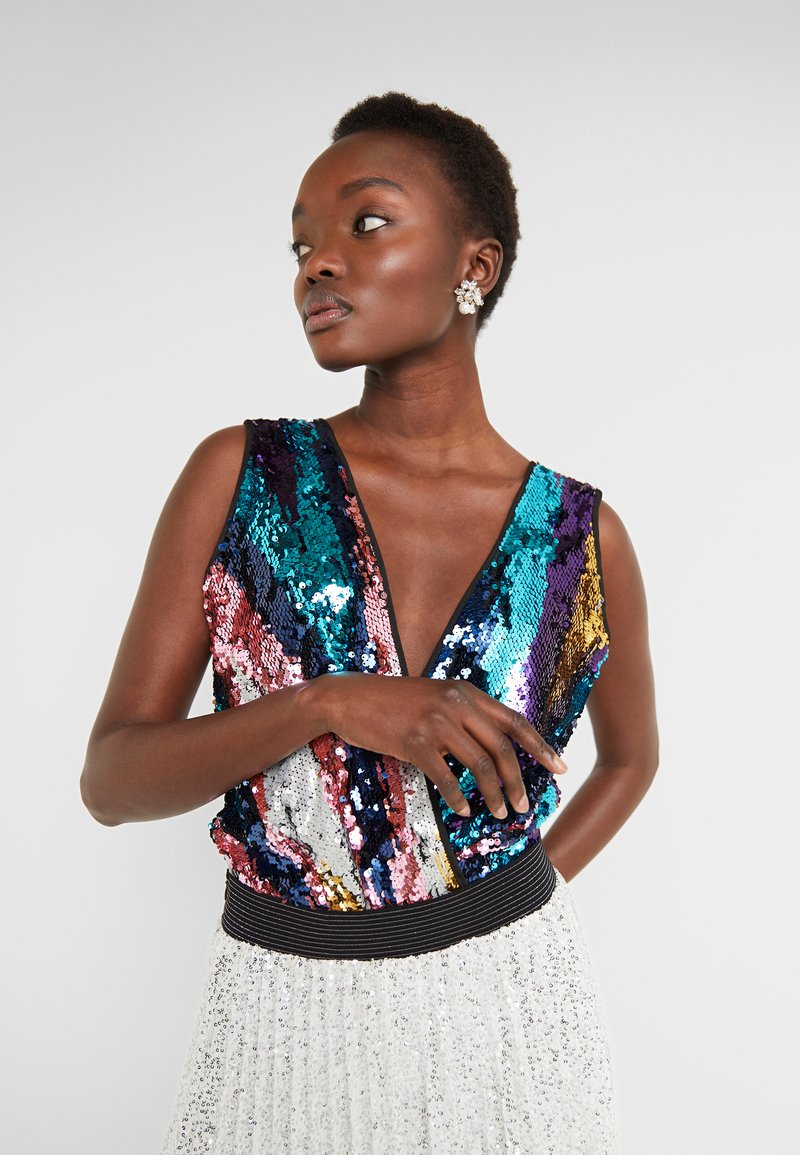 TWINSET - Bluse - multi-coloured/pink/silver