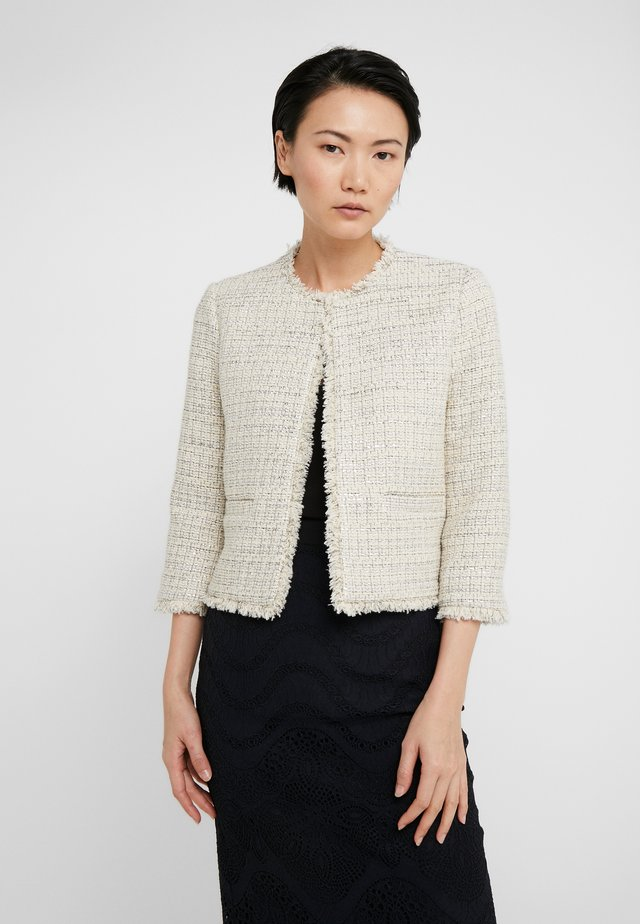 GIACCA COREANA  - Summer jacket - mul.avorio/silver