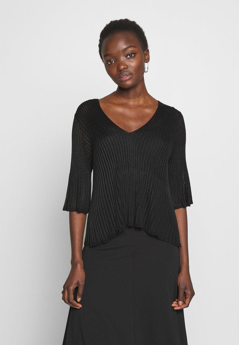 TWINSET - T-shirt con stampa - nero