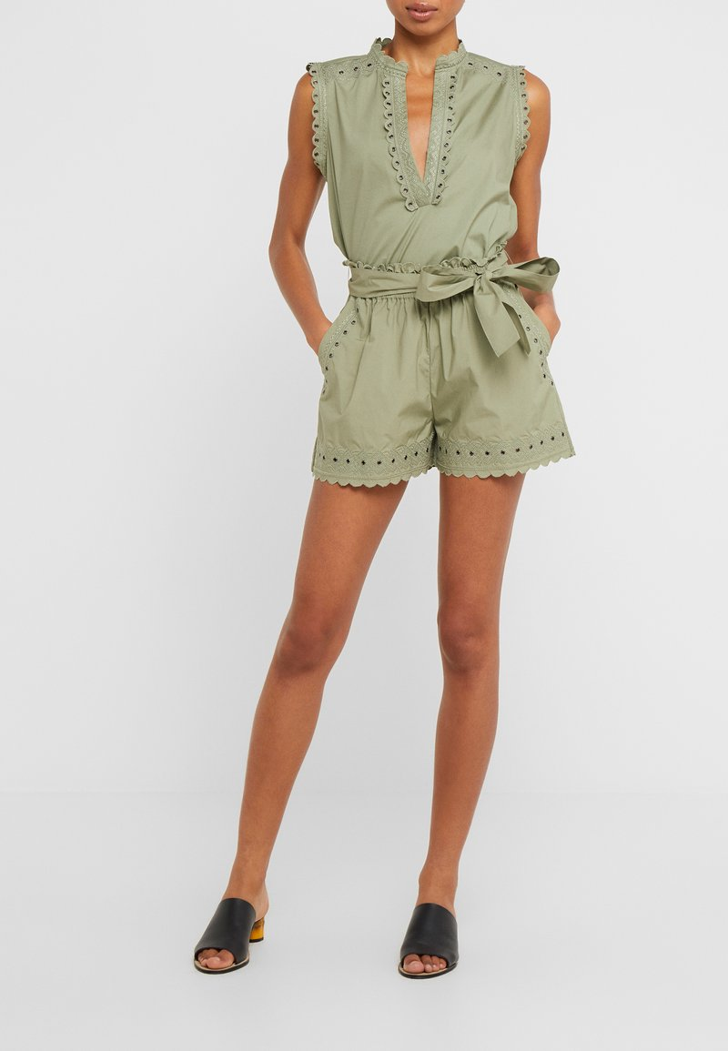 TWINSET - Shorts - oil green