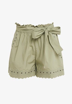 Shorts - oil green